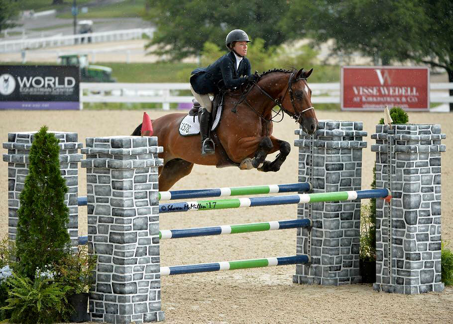 Waters Edge Stables, Professional equestrian facility, hunter/jumper specialty, full-service barn & facilities, horse boarding, riding lessons, horse shows, Jessica Cross, competing, jumping
